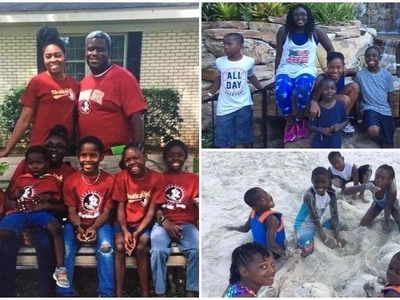 Compassionate couple adopts 7 siblings who were separated by foster homes