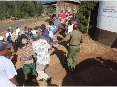 Kizaazaa huku ibada ya kanisa la Nyeri ikigeuka uwanja wa VITA (picha)