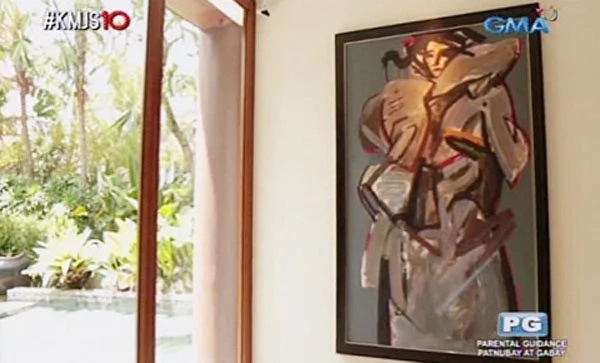 inside Willie Revillame's house