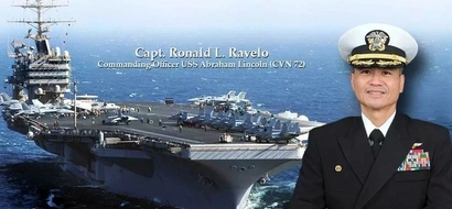 This Filipino-American is the FIRST in history to become captain of US aircraft carrier! Your heart will swell with pride when you see this!