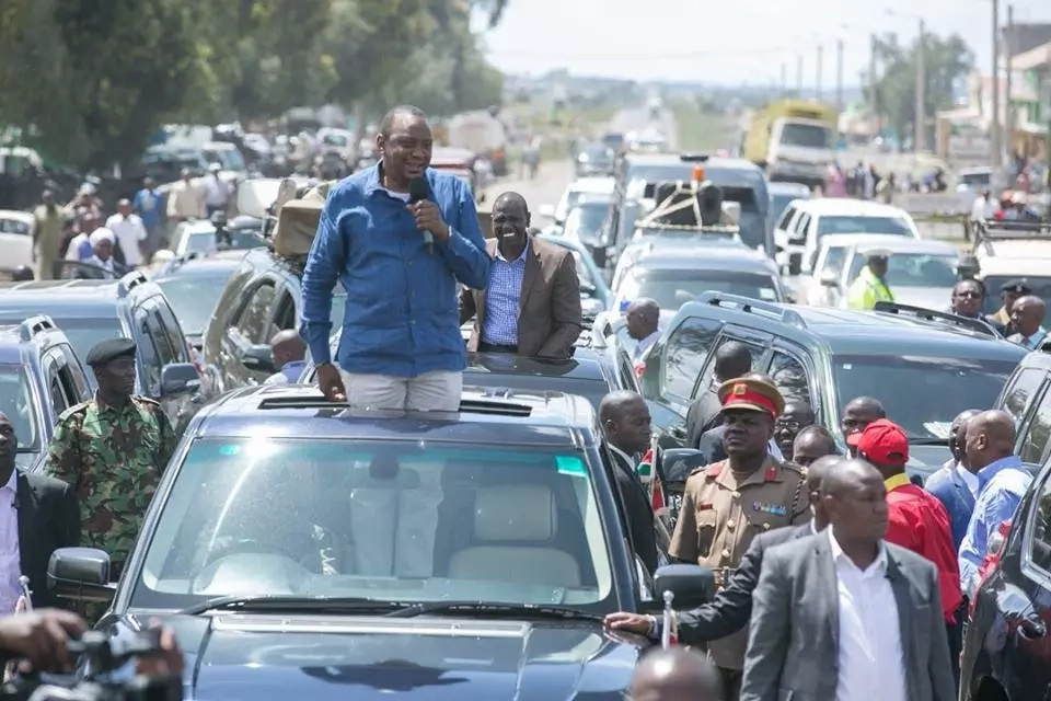 8 goodies lined up for Central Kenya residents as Uhuru begins 2-day tour