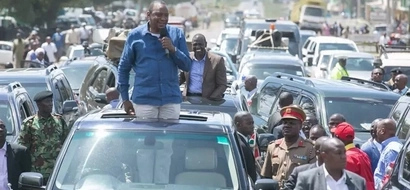 Uhuru Kenyatta hits Raila Odinga hard as he begins Central Kenya tour