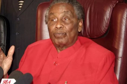 William Ole Ntimama is dead