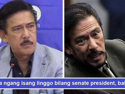 Baba agad? Tito Sotto di kapit-tuko sa posisyon, handang bumitiw bilang senate president kahit anumang oras
