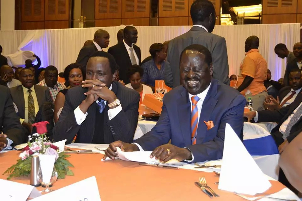 Raila and Mudavadi clash over CORD's presidential candidate
