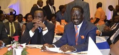 Raila Odinga shocks politicians seeking his support