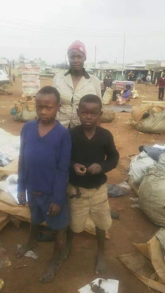 Greenline Safaris reunites boys with their mother in Bungoma