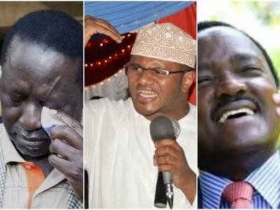 Wiper Party senator goes hard on Raila Odinga