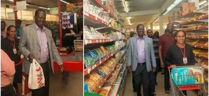 Supermarket where Raila missed Unga speaks on sacking employee for serving him