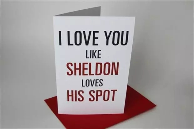Valentine Day quotes - funny way to say I Love You