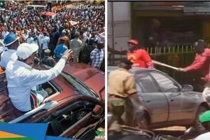 Chaos erupt during NASA rally in Mt. Kenya (video)
