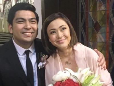 Way back into love: Jodi Sta. Maria and Jolo Revilla caught attending a wedding together
