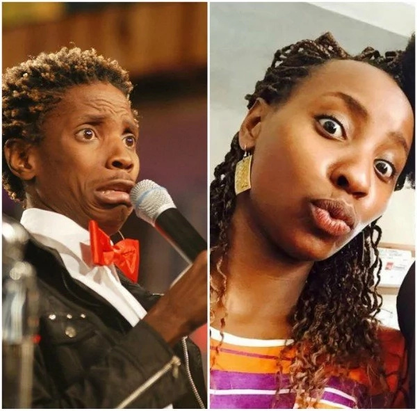 Does comediane Eric Omondi resemble Uhuru's daughter-in-law? Lets examine it here
