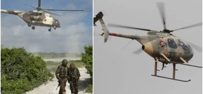 KDF combat helicopter launches SURPRISE attack on al-Shabaab base, fatalities reported