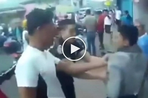 Avengers ng Pinas! Pinoy motorcycle riders team up to catch dangerous snatcher who assaulted female student