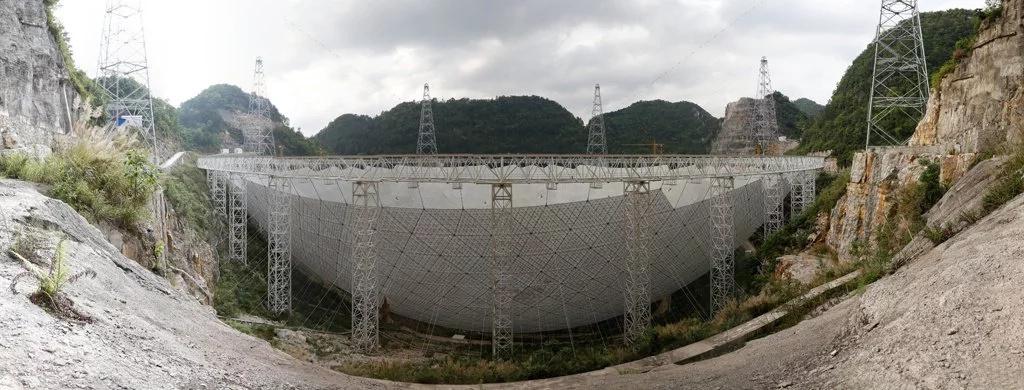 China tiene el radiotelescopio más grande del mundo