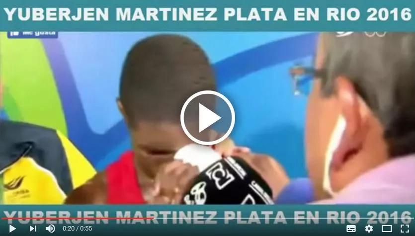 El medallista olímpico colombiano que lloró con una promesa y ahora espera que se cumpla