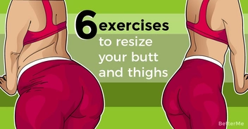 6 exercises to resize your butt and thighs