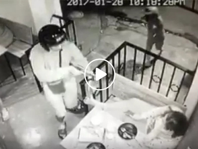 Dangerous men rob restaurant customers at gunpoint in Antipolo