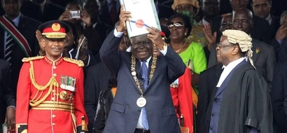 Kibaki atoa ONYO kali baada ya SK Macharia kudai kuwa Raila alishinda 2007