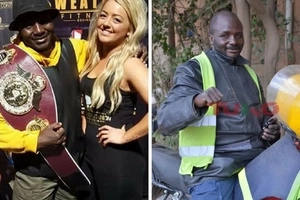 Exclusive: How Kenyan world boxing champion ended up as a boda-boda rider