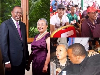 In the house its just me and Maggie, Uhuru Kenyatta says