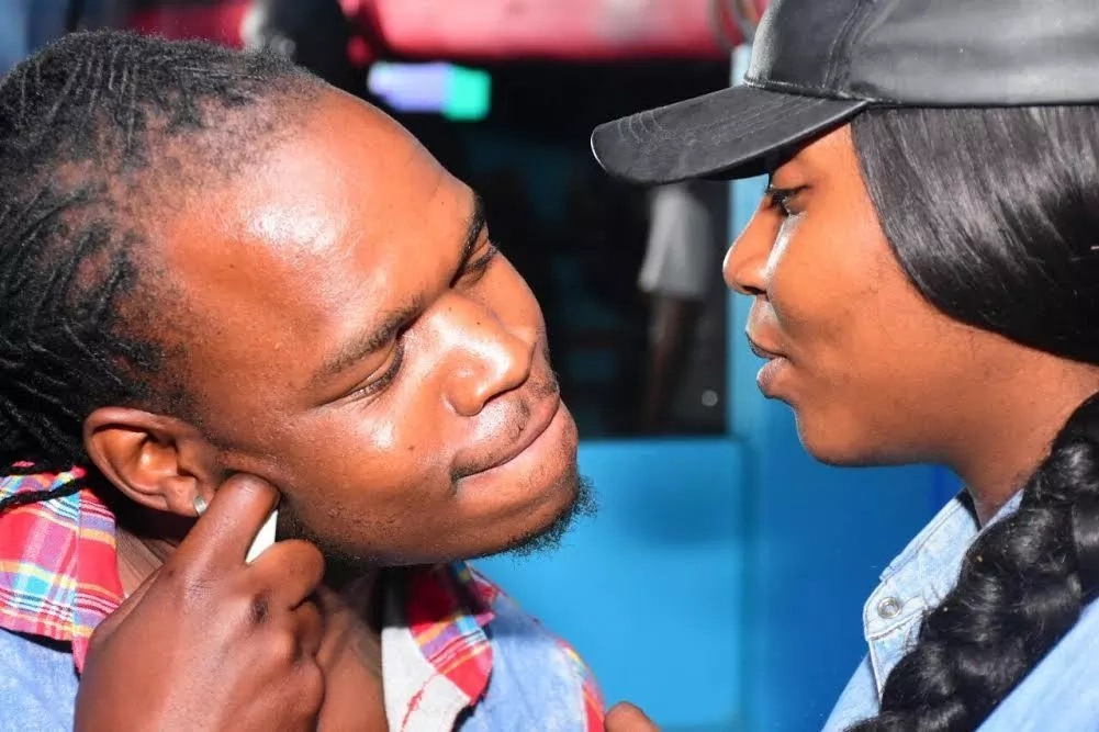 Is celebrated Kenyan rapper Timmy Tdat back with ex-girlfriend Dela?