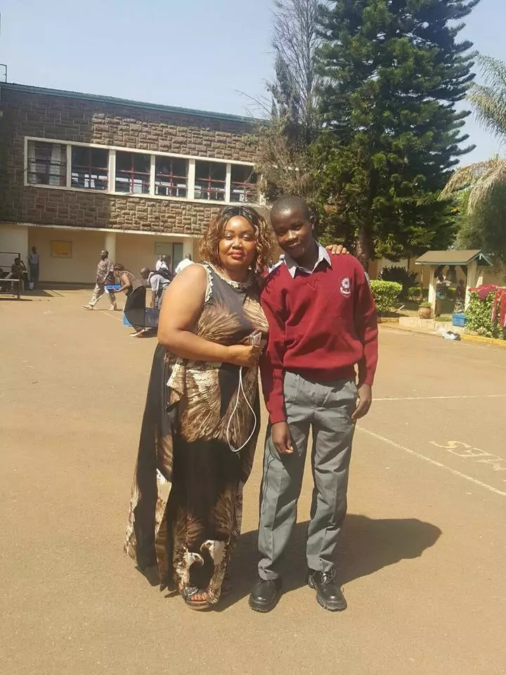 The national school that has enrolled Mike Sonko's son