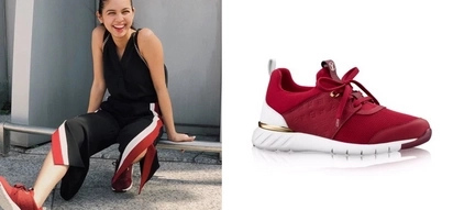 Maine Mendoza looks gorgeous in her P50,000 Louis Vuitton sneaker