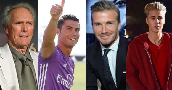 Cristiano Ronaldo, Justin Bieber, Beckham y Clint Eastwood estarán en película del Real Madrid