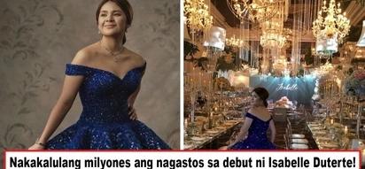 Bongga sa ganda, dobleng bongga ang halaga! Isabelle Duterte's super grand debut leaves many netizens asking: How much did it all cost?