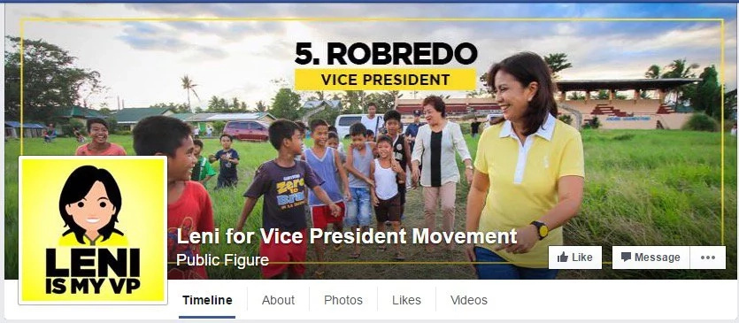 Beware of popular fake Leni Robredo Facebook page