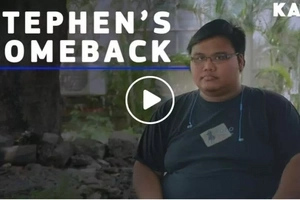 This Pinoy battled with a rare type of cancer and hated everything until he learned to accept his situation and served as an inspiration