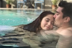 Luis Manzano shares steamy photo with Jessy Mendiola while they were dipping in a pool