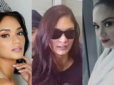 The queen is back! Pia Wurtzbach now in Manila for upcoming Miss Universe pageant kick-off party