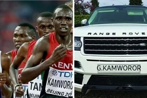 "Top Kenyan athelete parades ""his KSh 10 million vehicle"" but forgets to hide his tracks"