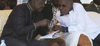 Raila Odinga sends Kakamega senator Boni Khalwale condolence message