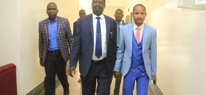 Viral video emerges of Embakasi East MP Babu Owino beating security guards in Westlands