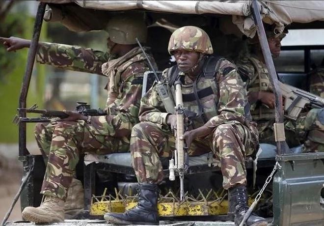 KDF attack al-Shabaab base