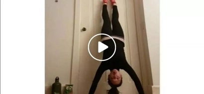 Goodbye James Reid! Ellen Adarna sets new 'beat energy gap' record with her jaw-dropping hand stand push ups