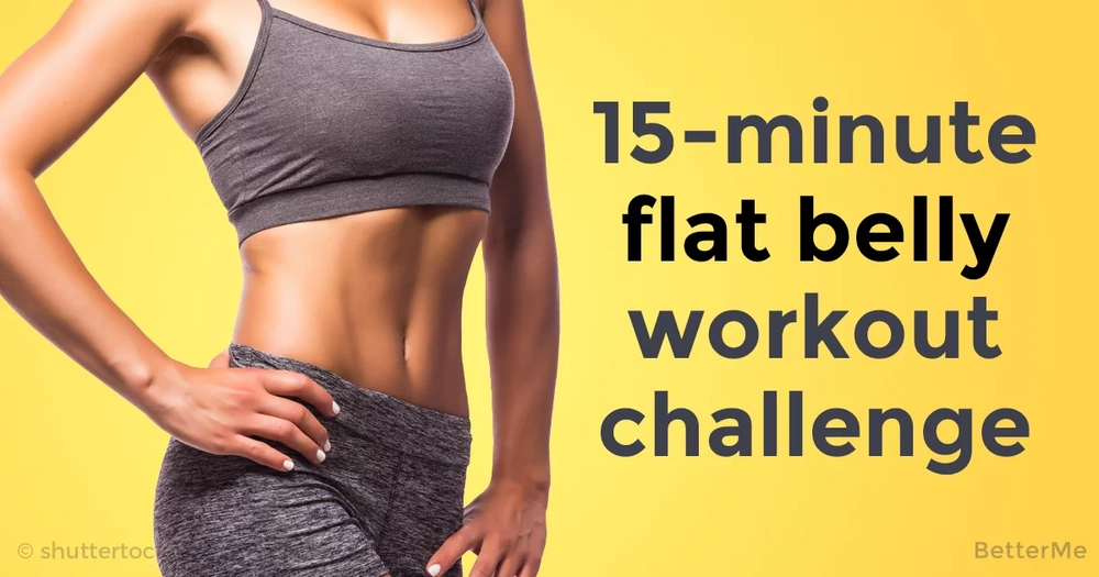 15-minute flat belly workout challenge