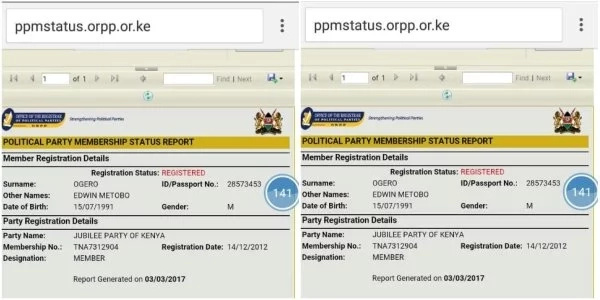 Millions of Kenyans shocked to realise their identities have been sold to parties, check yourself here