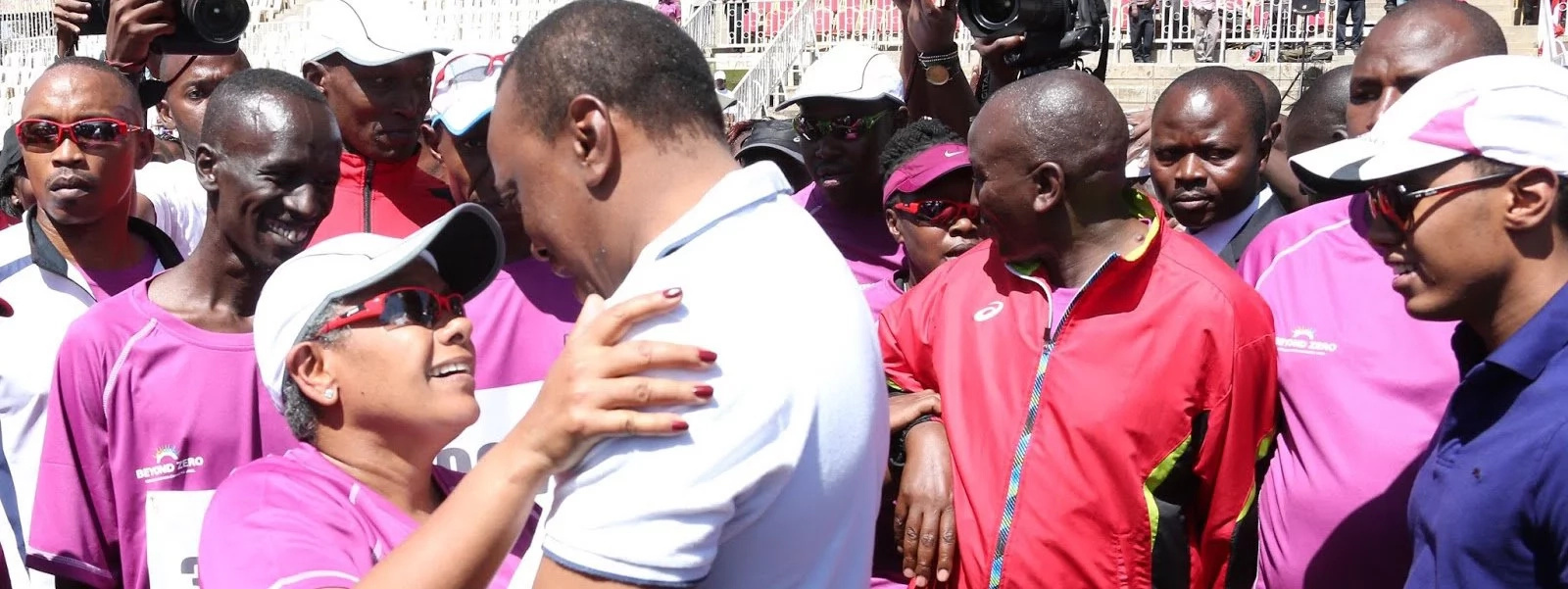 7 pictures that prove First Lady Kenyatta loves Uhuru
