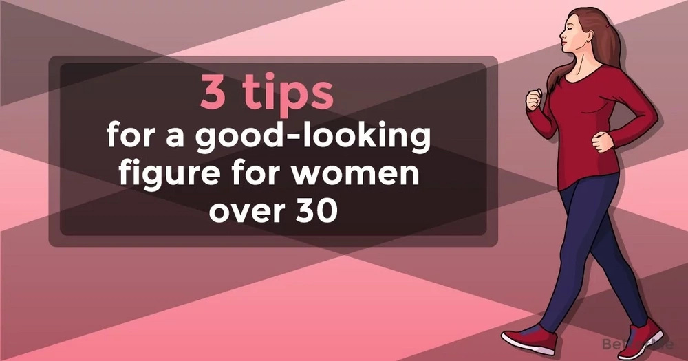 3 tips for a good-looking figure for women over 30