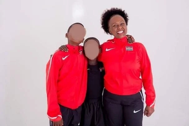 Keino's family trolled online after rumours allege they are wearing stolen Olympics gear