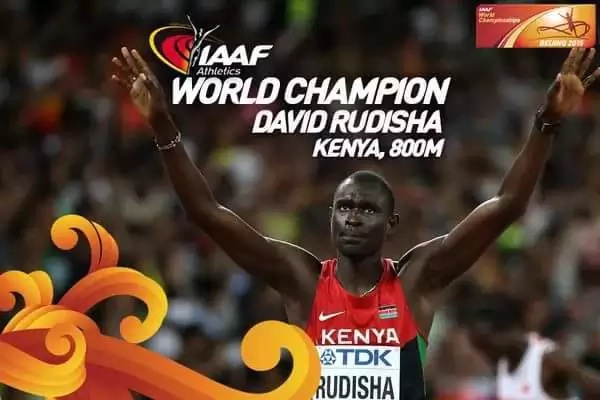 What David Rudisha's wife told him that made him win gold