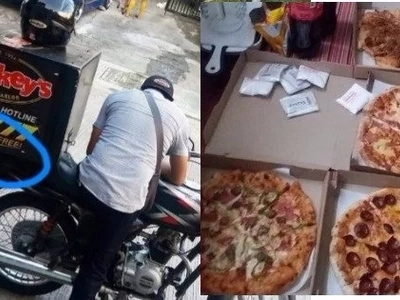 Netizens bashed a girl named Tin Tin on Facebook after she brags about getting 4 boxes of free pizza for late delivery! Here's what happened.
