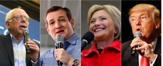 Updates On US Presidential Primaries; Cruz, Sanders Looking Forward To Wisconsin Victory