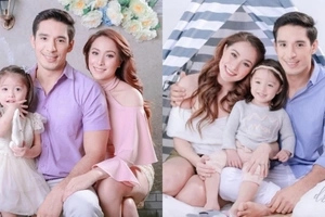 Cristine Reyes-Khatibi and family allure in their latest photo shoot