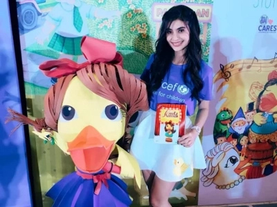 Congrats! Work of newbie author Anne Curtis gets recognized by religious org